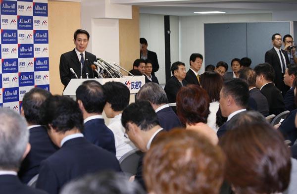 怨嗟の声が渦巻いた民進党の両院議員総会(C)日刊ゲンダイ