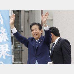 すっかり上から目線(C)日刊ゲンダイ