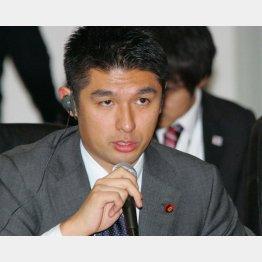 1区の寺田学氏(C)日刊ゲンダイ