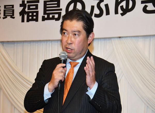 1区の福島伸亨氏(C)日刊ゲンダイ