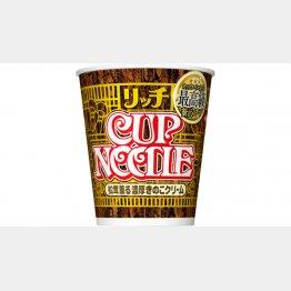 日清食品・カップヌードル「松茸薫る濃厚きのこクリーム」(HPより)