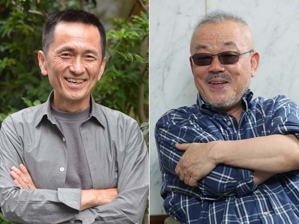 「演技指導を通じてハッパをかけてくれた」井筒監督(右)に感謝(C)日刊ゲンダイ
