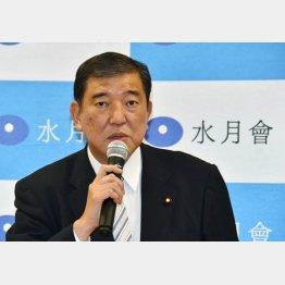 1区の石破茂元防衛庁長官(C)日刊ゲンダイ