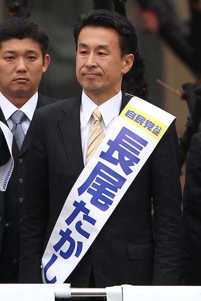 14区の長尾敬氏(C)日刊ゲンダイ
