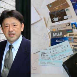 経営コンサルタント松崎久純さんの財布は現金とメモの山