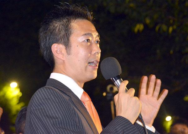 1区の井坂信彦氏(提供写真)