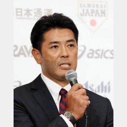 稲葉監督はハラハラドキドキ(C)日刊ゲンダイ