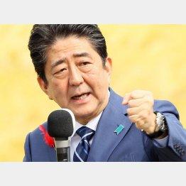 選挙期間中に前代未聞の取材拒否(C)日刊ゲンダイ