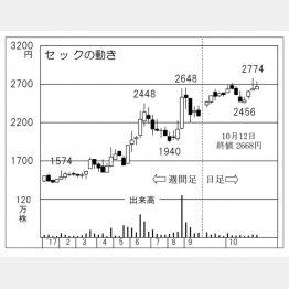 セックの動き(C)日刊ゲンダイ