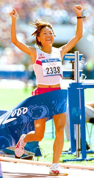 高橋はシドニー五輪で日本女子悲願の金メダルを獲得(C)日刊ゲンダイ
