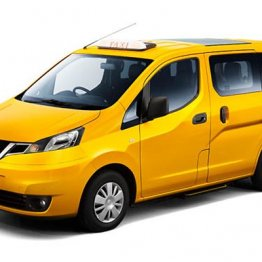日産自動車のタクシー専用車「NV200タクシー」