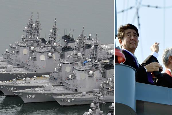 すでにイージス艦6隻だが迎撃ミサイルは1発も…(C)共同通信社