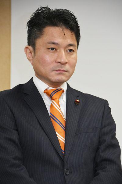 15区の柿沢未途氏(C)日刊ゲンダイ
