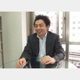 設立当初の後藤社長 (提供写真)