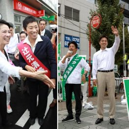 【大阪10区】辻元氏は「安倍政権を終わりに」と呼び掛け