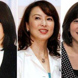 女子アナ人気を不動にしたフジテレビ「花の3人娘」の今昔