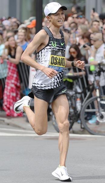 初マラソンで3位と大迫は結果が出ている(C)共同通信社