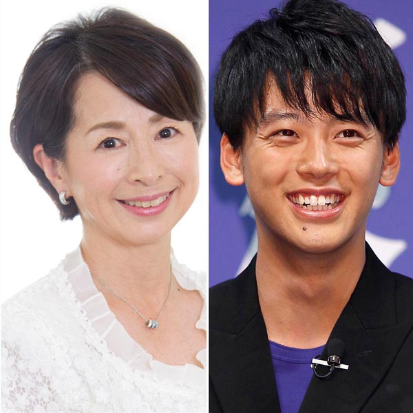 阿川佐和子と竹内涼真(C)日刊ゲンダイ