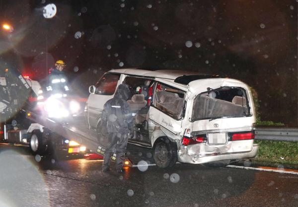 石橋和歩容疑者は危険な運転を日常的に繰り返していた(C)共同通信社