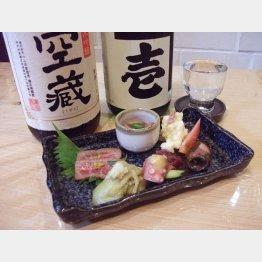 兵庫県下で産される日本酒にこだわり(C)日刊ゲンダイ
