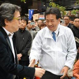 保守論客の小林よしのり氏(左)も支援