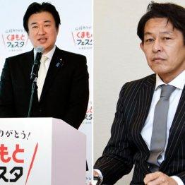 【熊本】自民・木原稔氏vs希望・松野頼久氏がっぷり四つ