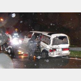 東名高速の事故後も続々(C)共同通信社