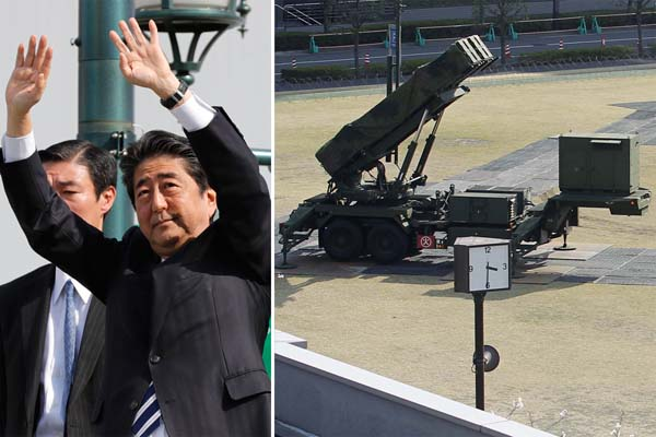 迎撃ミサイルPAC3は絵に描いた餅(C)日刊ゲンダイ