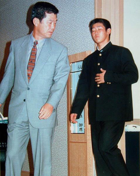 当初はベイスターズ志望だった横浜高校・松坂(C)日刊ゲンダイ