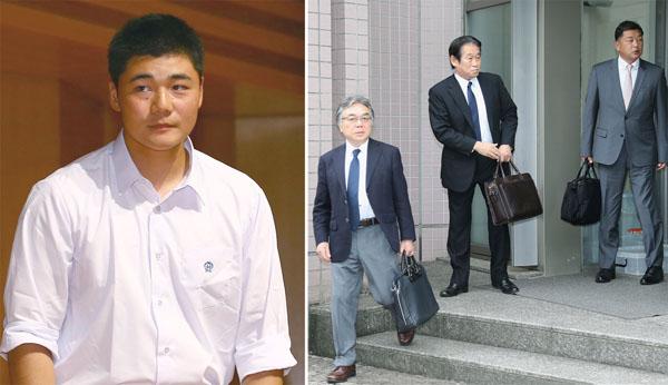 巨人は石井社長ら5人態勢で面談に臨んだ(C)日刊ゲンダイ