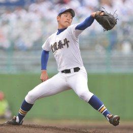 速球の強烈なバックスピンは巨人・菅野を想起させる