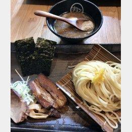 やや太めの麺にはしっかりとしたコシが(提供写真)