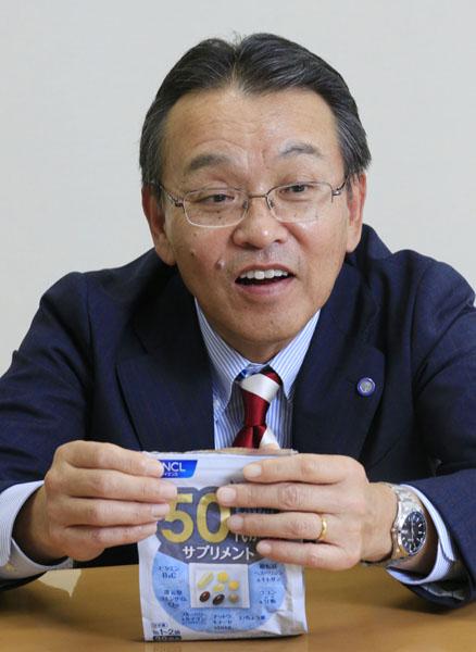 ファンケル・島田和幸社長(C)日刊ゲンダイ