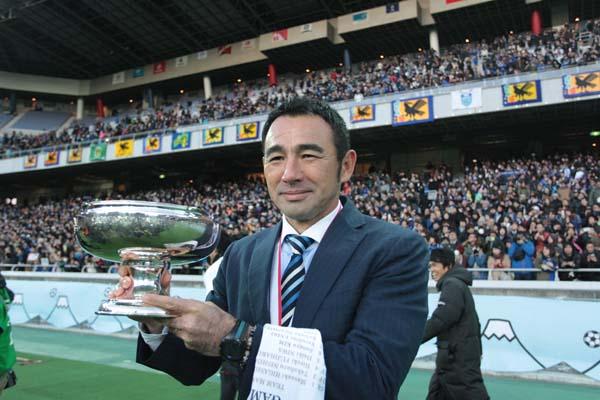 14年、15年の天皇杯を連覇した長谷川監督(C)Norio ROKUKAWA/Office La Strada