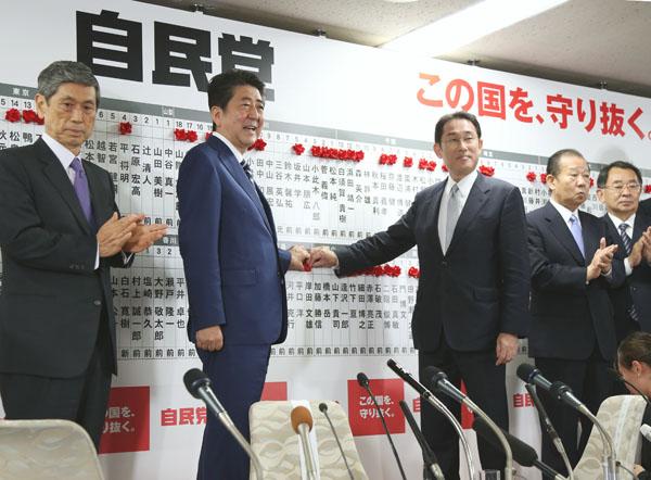 選挙が終わればやりたい放題(C)日刊ゲンダイ