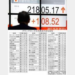 日経平均採用銘柄がズラリ(C)日刊ゲンダイ