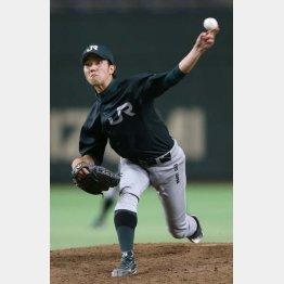 社会人ナンバーワン投手の田嶋はオリックスに(C)日刊ゲンダイ