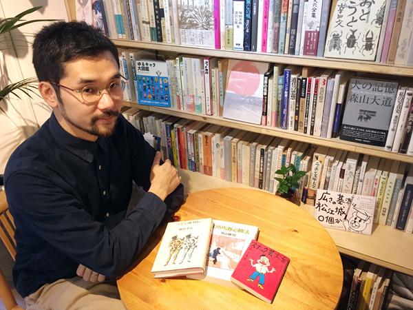 お話をしてくれた「book pick orchestra」代表の川上洋平氏(C)日刊ゲンダイ