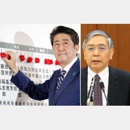 悪党コンビ(C)日刊ゲンダイ