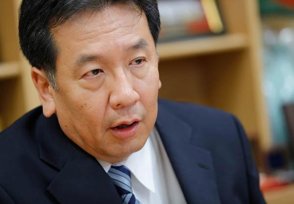 立憲民主党の枝野代表(C)日刊ゲンダイ