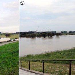 河川敷コースの宿命 台風21号の影響で冠水損害は3000万円
