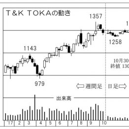 UVインキで国内トップシェア「T&K TOKA」は中期狙い