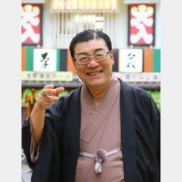 講談師の神田松鯉さん(C)日刊ゲンダイ