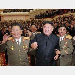 パーティーを開いて6回目の核実験成功お祝い(C)共同通信社