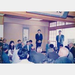 佐瀬一門の棋士たち(提供写真)