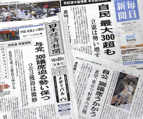 メディアが一斉に同じ言葉で報道(C)日刊ゲンダイ