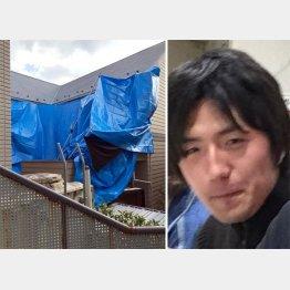 9遺体が見つかった6畳のワンルームで白石容疑者は何をしていた?(顔写真はツイッターから)