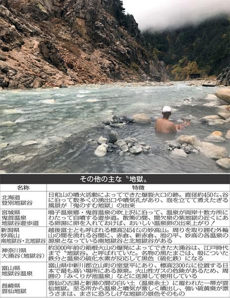 知る人ぞ知る「湯俣温泉 地獄谷」(C)日刊ゲンダイ