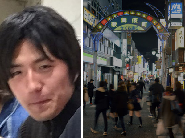 歌舞伎町にいられなくなった(顔写真はツイッターから)