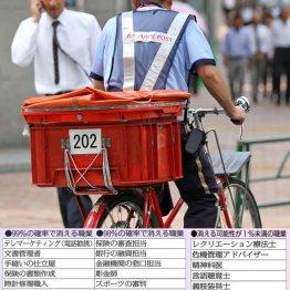 運送郵便業はトラックがドローンに 配達員はロボットに